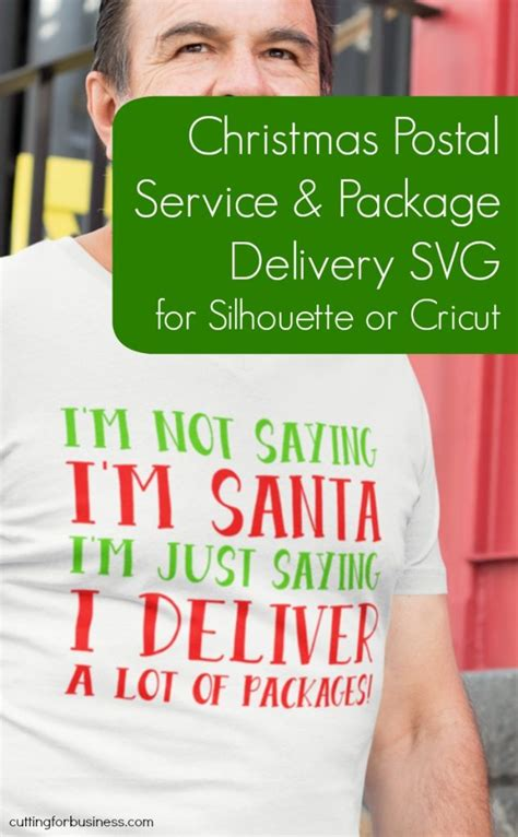 free christmas svg for usps fedex and ups driver
