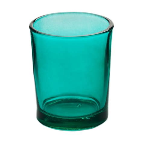 Votive Candle Holders Lagoon Blue Glass Votive Candle Holder