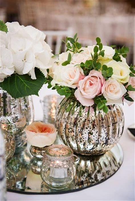 Mirror Table Decor by Best 25 Mercury Glass Centerpiece Ideas On