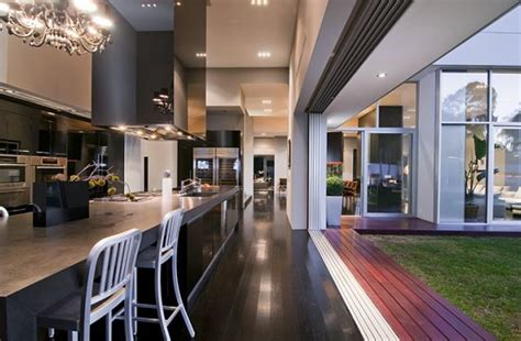 indoor outdoor kitchen designs contemporary luxury kitchen interior design of nightingale home by marc canadell california