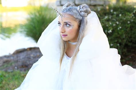 hairstyles costume unicorn half up diy halloween costume cute girls
