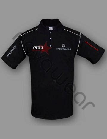 volkswagen gti polo shirt black vw merchandise vw caps vw clothes