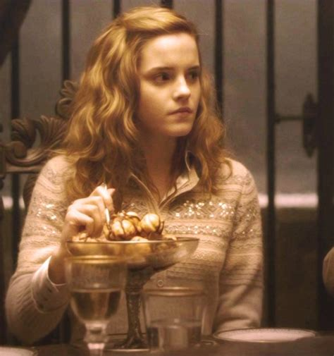 Hermione Granger And The Half Blood Prince by Hermione Granger At Slughorn S Harry Potter And The