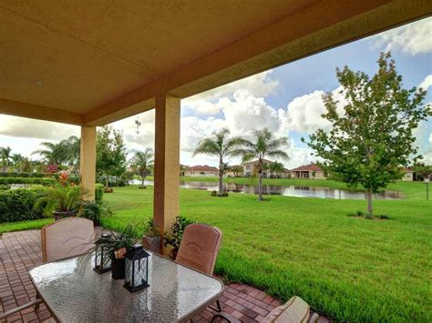 The Patio Vero Fl by Home For Sale In Falcon Trace In Vero