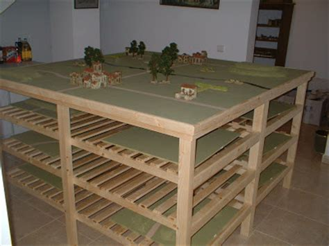 Wargaming Table by Jan And Paul Move To Spain Wargames Room April 2006