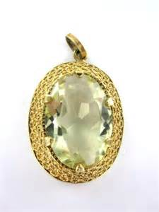 vintage yellow gold necklace 60 vintage jewelry