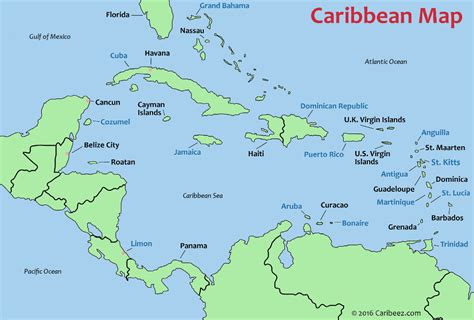 map caribbean caribbean island map and destination guide caribeez