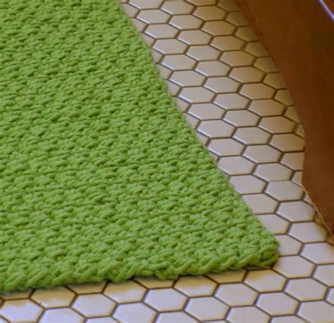 Mat Pattern by Pattern Apple Green Bath Mat