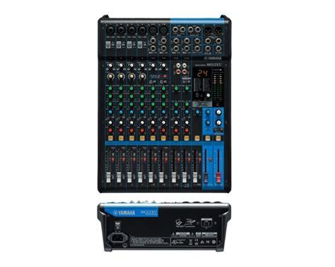 Mixer Yamaha Mg12xu yamaha mg12xu mixer usb con effetti 12 canali