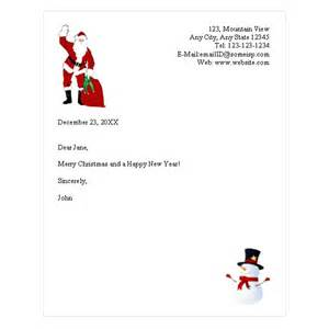 santa letter template word best photos of letter from santa stationary template