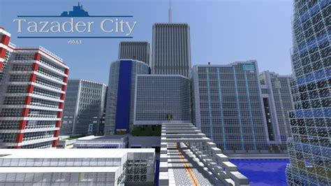 mc bank city tazader city creation minecraft worlds curse
