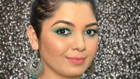 L Oreal Infallible Paints Mint Detox Review by Karwa Chauth Makeup Tutorial Ft L Oreal Infallible