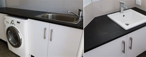 laundry bench tops paperock used for kitchen benchtops offices table tops