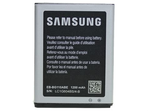 Samsung Battery Samsung Mini 5570 Original Silver samsung eb bg110abe 1250mah battery original galaxy pocket 2 gegeszoft wholesale