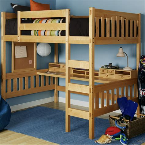 full size loft bed plans for teens diy full size loft