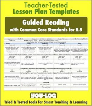 1e Designing Coherent Instruction Free K 5 Guided Reading Lesson Plan Template W Drop Down Designing Coherent Template