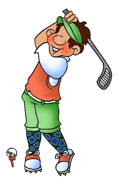 golf clipart sports clip by phillip martin golf