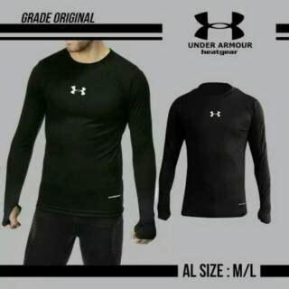 Kaos Lengan Panjang Adidas 2 kaos baselayer manset lengan panjang nike adidas