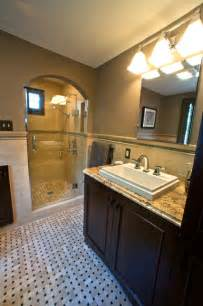 English cottage style home bathroom remodel traditional bathroom
