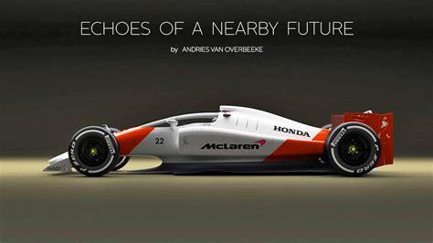 mclaren f1 concept 2019 mclaren honda f1 car renderings