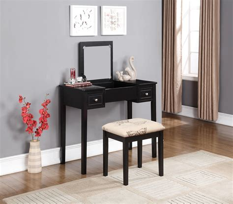 linon home decor vanity set with butterfly bench black linon home decor vanity set with butterfly