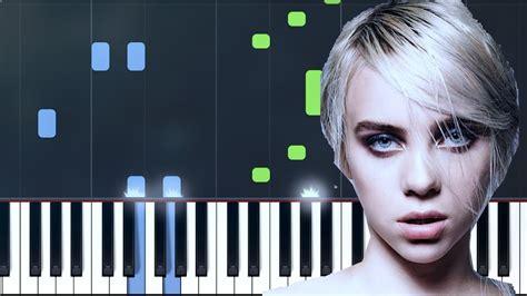 billie eilish watch chords billie eilish quot idontwannabeyouanymore quot piano tutorial