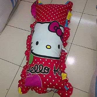 Bantal Cinta Grosir sarung bantal cinta hello merah jual sprei hello