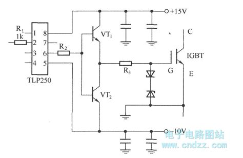 simple diagram of integrated circuit driver with integrated circuit tlp250 basic circuit circuit diagram seekic