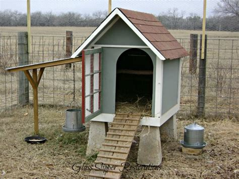 dog house chicken coop repurposed doghouse into a chicken coop