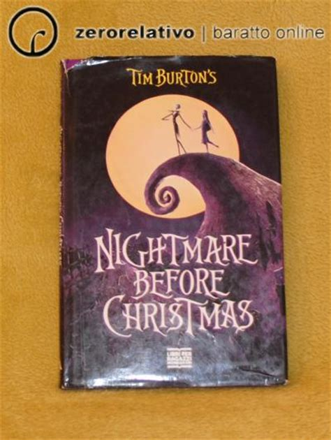 libro one christmas wish libro nightmare before christmas tim burton baratto su zerorelativo