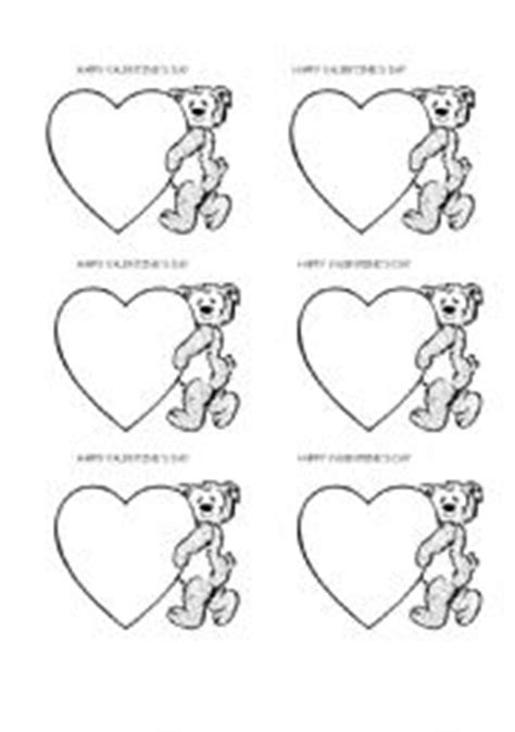 valentines card esl teaching worksheets 180 s day card