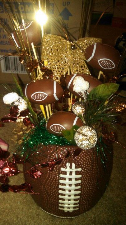 football banquet centerpieces football centerpieces graduation ideas