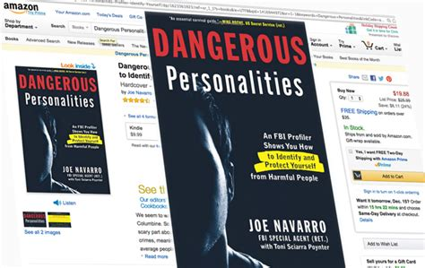 dangerous personalities an fbi profiler shows you how to identify and protect yourself from harmful books not so combination personalities excerpt from the