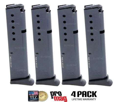 Promag Biasa 10 Tablet 4 pack ruger lcp 380 acp magazine ten 10 promag w extended floorplate nib ebay
