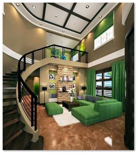 desain interior rumah warna hijau desain rumah unik