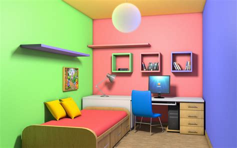 colorful interiors colorful room interior by amitwati on deviantart