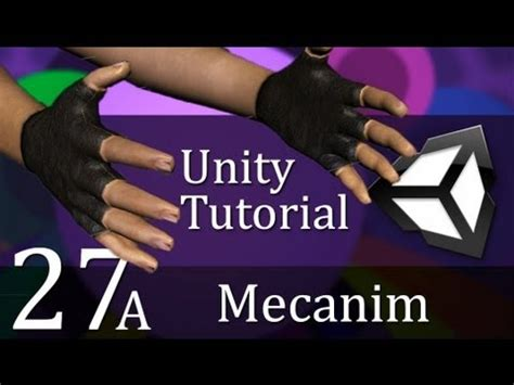 unity tutorial videos 27a unity tutorial mecanim create a survival game