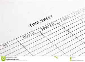 time sheet royalty free stock photos image 22200358