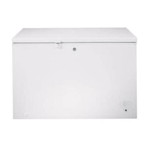 Freezer Frigigate F 122 ge 10 6 cu ft chest freezer in white fcm11phww the
