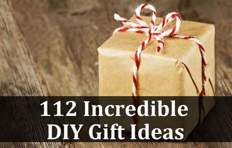 diy gifts 112 diy gift ideas