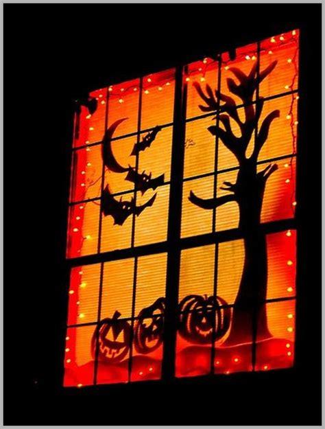 lighted halloween window decorations halloween window lights decorations festival collections