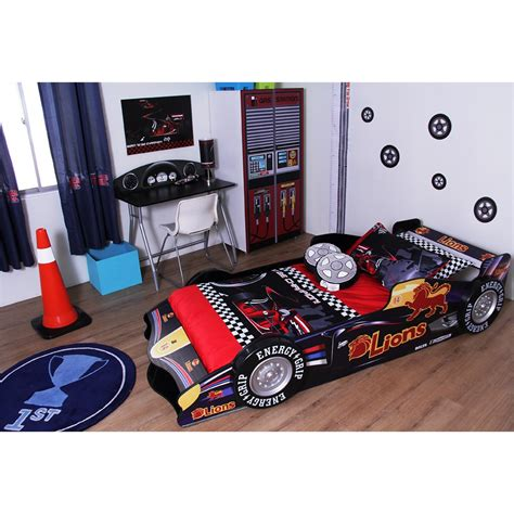 f1 racing car 3 pieces bedroom set