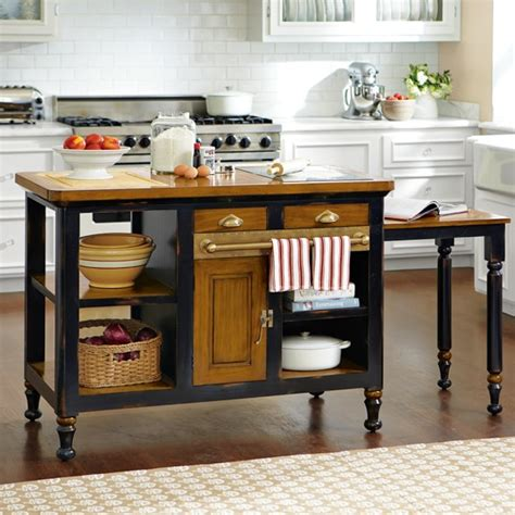 imposing williams sonoma boos kitchen island with pull out