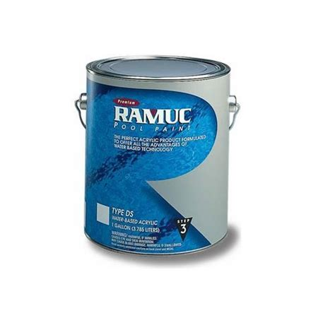 ramuc type ds acrylic pool paint