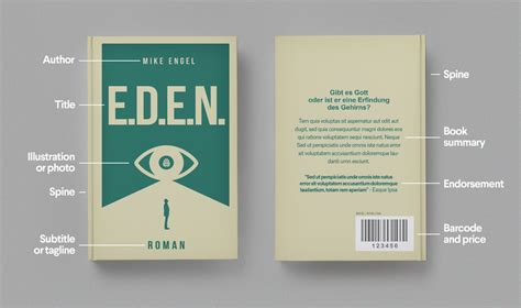 book layout design pricing anatomy of a book cover 99designs