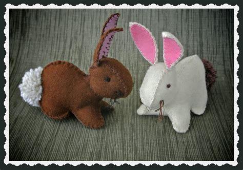 Pattern For Felt Rabbit | felt easter bunny template free easter bunny pattern