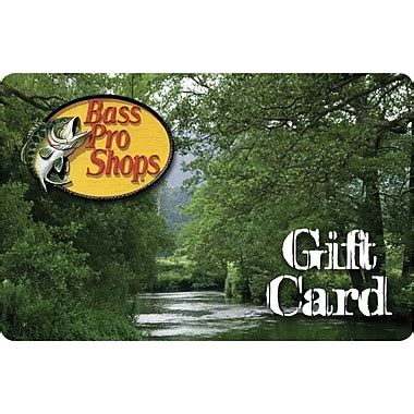Bass Pro Gift Card - bass pro shops gift cards staples 174