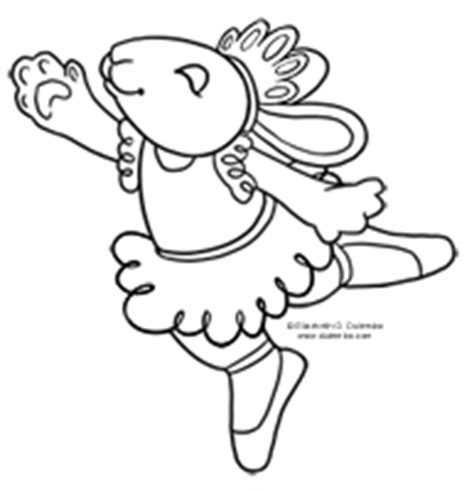ballerina bunny coloring page coloring page tuesdays fun stuff