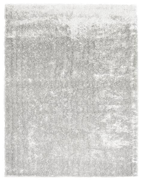 shiny shag rug priscilla shag rug shiny white 5 x8 contemporary rugs by icustomrug