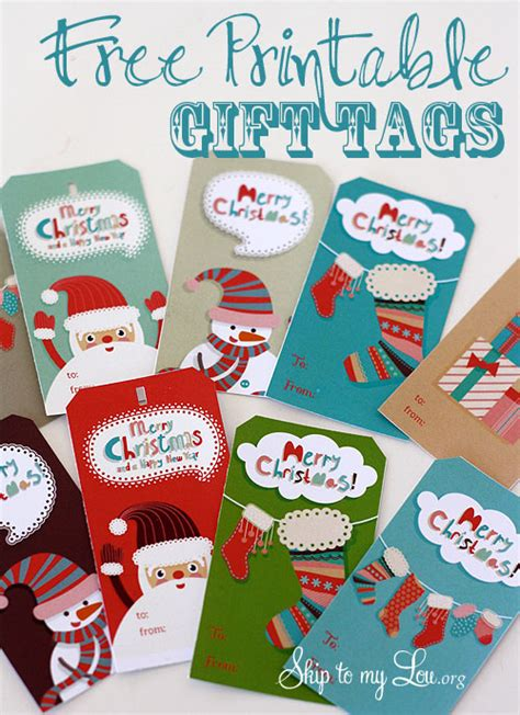 free printable christmas gift tags skip to my lou